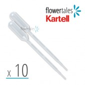 DISPOSABLE PASTEUR PIPETTES (x10)
