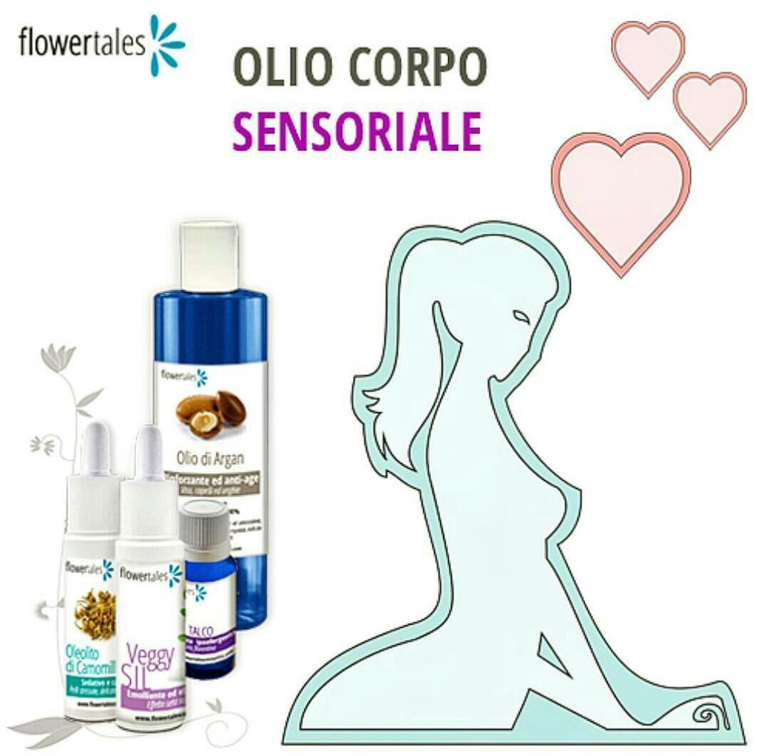 Hai provato l'olio corpo sensoriale?